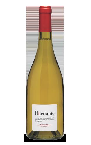 Dilettante blanc 2015 : <span> Cépages : Chenin, Roussane</span>